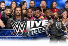 WWE returning to Australia