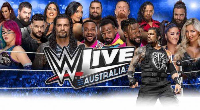 WWE returning to Australia