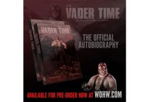 Vader's autobiography