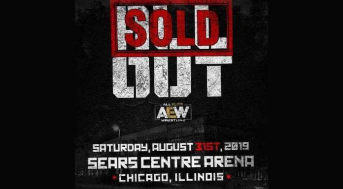 AEW All Out PPV sells out in 15 minutes