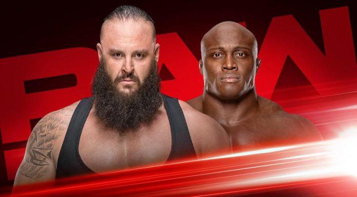 Strowman vs. Lashley Falls Count Anywhere Match RAW