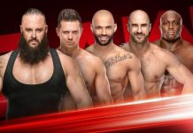 Fatal 5 Way Match Monday Night RAW