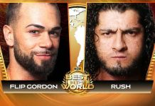 ROH to stream Flip Gordon vs. Rush this Friday for Free