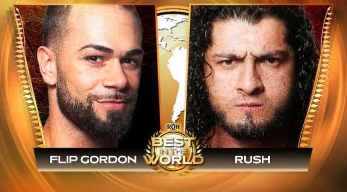 ROH to stream Flip Gordon vs. Rush this Friday for Free