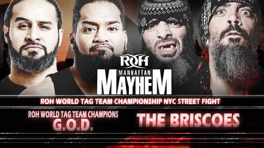 NYC Street Fight Manhattan Mayhem