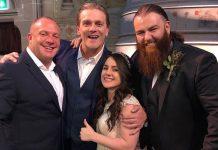 Nikki Cross and Killian Dain married