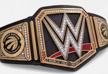 WWE Toronto Raptors customer Title Belt