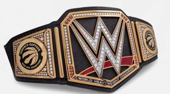 WWE Toronto Raptors customer Title Belt