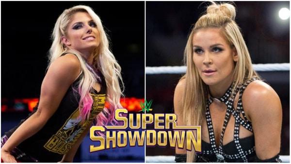 Alexa Bliss and Natalya