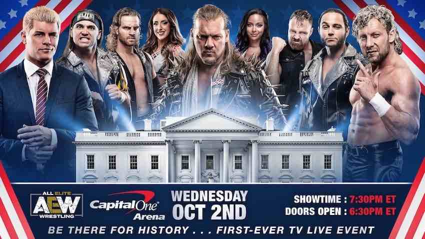 AEW to announce on-sale ticket date today for TNT debut