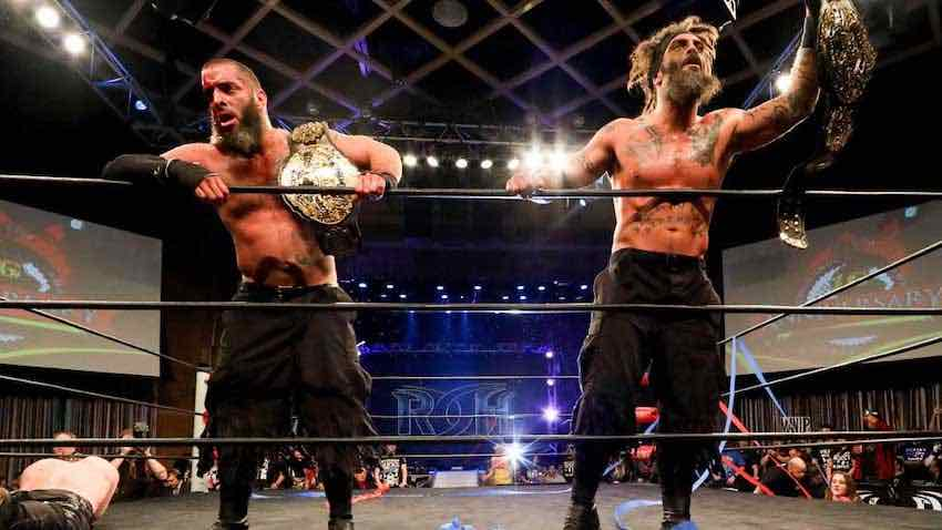 The Briscoes sign new ROH contracts