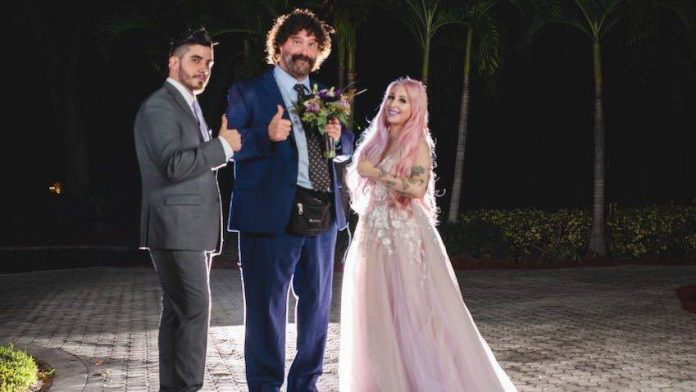 Mick Foley appearing on Say Yes to the Dress