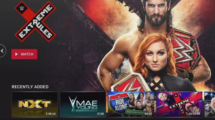 WWE Network redesign