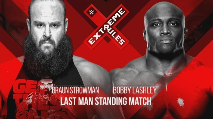 Extreme Rules card