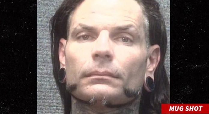 Jeff Hardy arrested