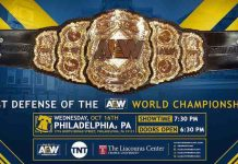 AEW Title to be defending on episode three