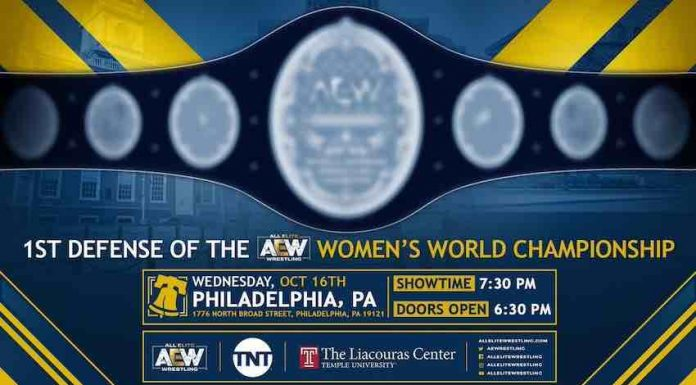 AEW Women's Championship Match TNT October 16