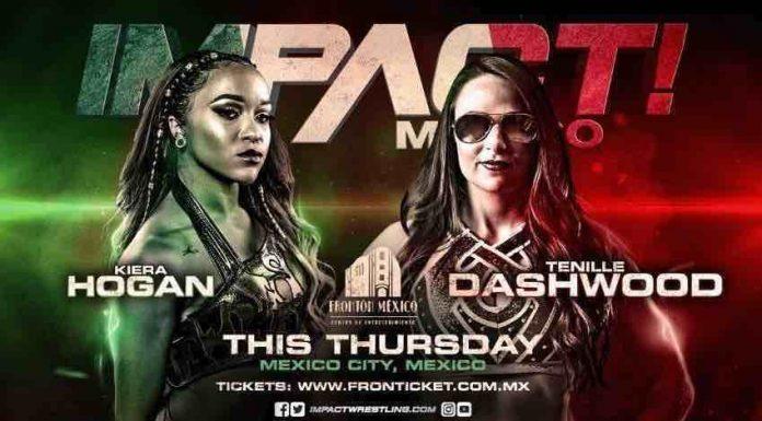 Kiera Hogan vs. Tenille Dashwood Mexico City