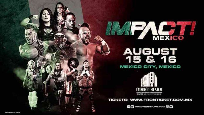 8/15 Impact Wrestling TV tapings from Mexico City