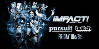 Impact Wrestling episode doubling as a backdoor studio show
