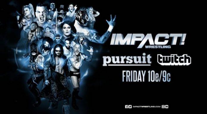 Impact Wrestling episode doubling as a backdoor studio show