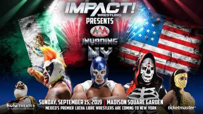 Impact and AAA partnering together for September 15 NY event