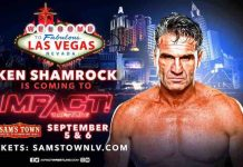 Ken Shamrock returning to Impact Wrestling in Las Vegas