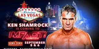 Ken Shamrock returning to Impact Wrestling in Las Vegas