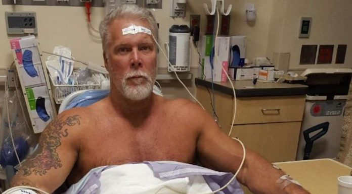 Kevin Nash received stem cell treatment