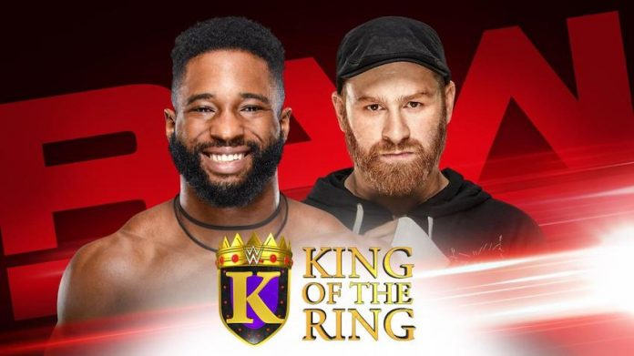King of the Ring Matches set for RAW