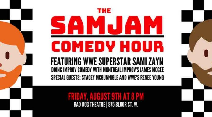 Sami Zayn hosting benefit event for charity