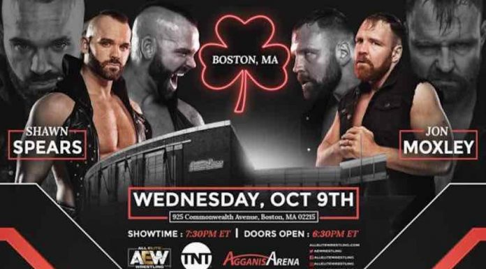 Shawn Spears vs. Jon Moxley set for October 9 TV show