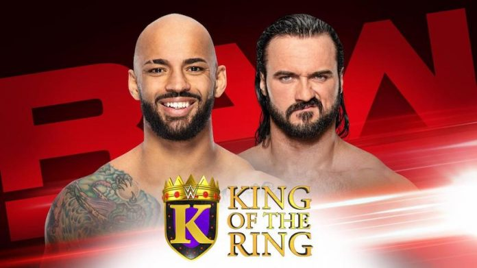 King of the Ring first round matches announced for RAW