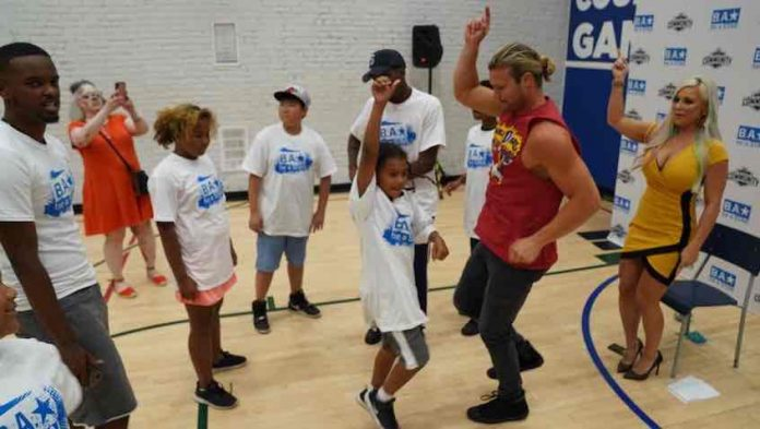 WWE stars host Be A STAR at Toronto Boys and Girls Club