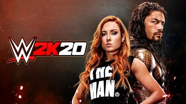 WWE 2K20 covers stars