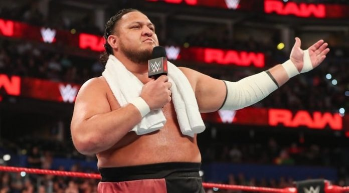 Samoa Joe fined