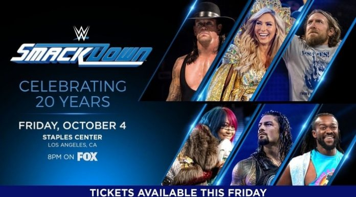 Smackdown's 20th anniversary