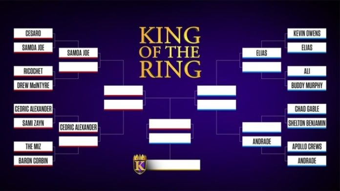 King of the Ring brackets
