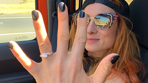 Becky Lynch engaged