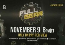 AEW Full Gear PPV announced for November 9