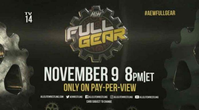 AEW Full Gear PPV announced for November 9