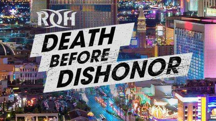 ROH Death Before Dishonor PPV Results from 9-27-19