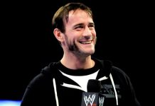 CM Punk WWE Backstage