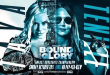 Tenille Dashwood challenging for Knockouts Title at Bound For Glory