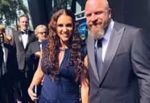 Triple H and Stephanie McMahon attend 2019 Emmy Awards Sunday night