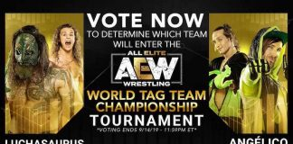 AEW asking fans to vote for final team entrant for tag title tournament