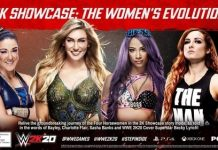 WWE 2K20 2K Showcase