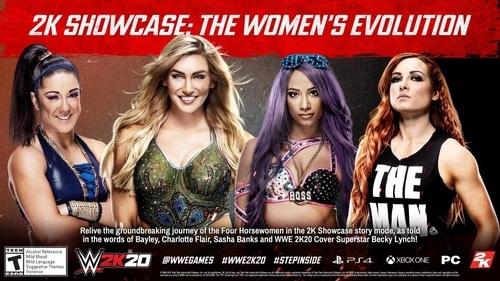 WWE 2K20 2K Showcase