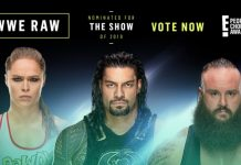 RAW nominated for award