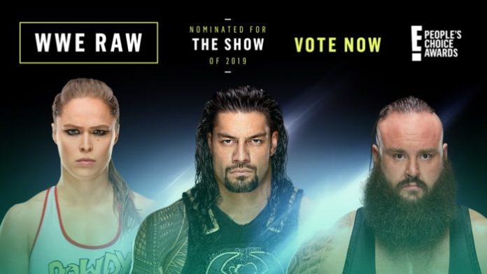 RAW nominated for award